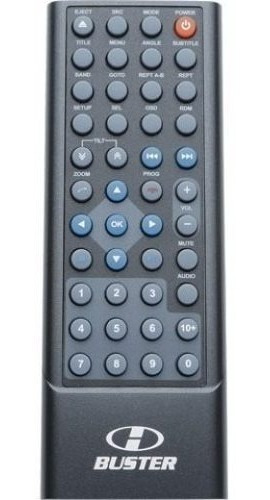 controle remoto para dvd h-buster hbd-d 2000 9450 9460