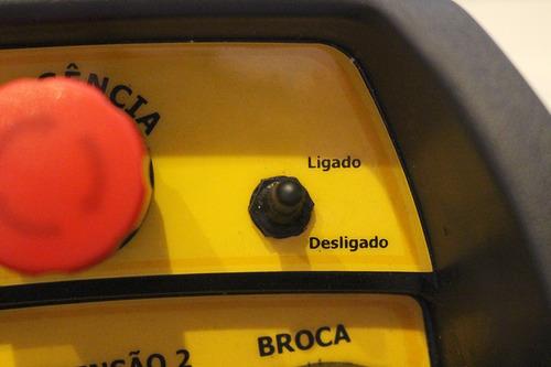 controle remoto para guindaste - padrão nr12