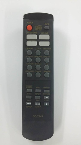 controle remoto para som micro system semp toshiba cr7215cd