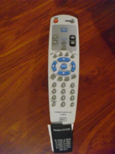 controle remoto para tv gradiente fm modelo c01005
