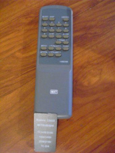 controle remoto para tv  mitsubishi modelo  c0858