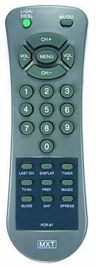 controle remoto para tv philco pcr 111 serve varios modelos.