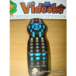 controle remoto para videoke 3700 plus e comum