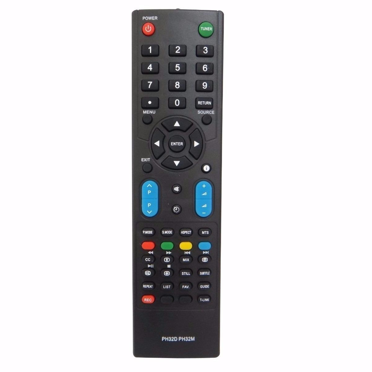 Controle Remoto Tv Philco Lcd Led Ph29t21d Ph29e63d R