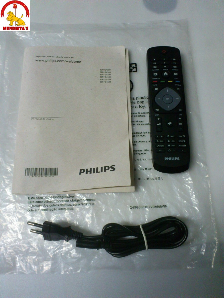 controle remoto philips 40pfg4109 7 manual cabo de for a r rh produto mercadolivre com br manual da tv philips 42pfl3403/78 manual da tv philips 32pfl3606d/78