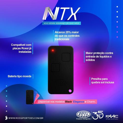 controle remoto portão rossi ntx 433 dz nano atto dz3 dz4 bv