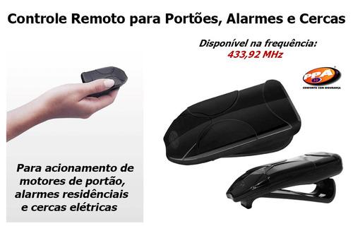 controle remoto ppa tok portão/alarme/cerca elétrica 433mhz