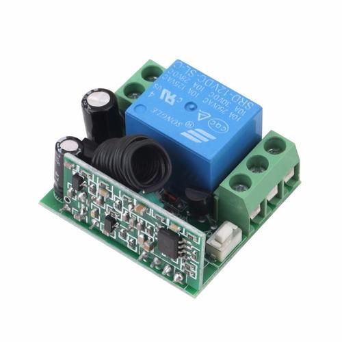 controle remoto + receptor com rele 1 canal 12v