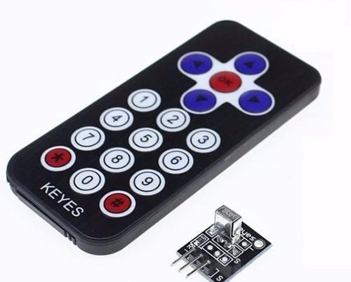 controle remoto receptor led infravermelho ir arduino pic