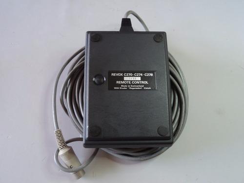 controle remoto revox c270/c274/c278