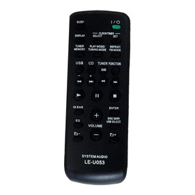 Controle Remoto Rm-amu053 P/ Sony  Mhc-gtr6 Gtr8 Gtr33 Gtr88