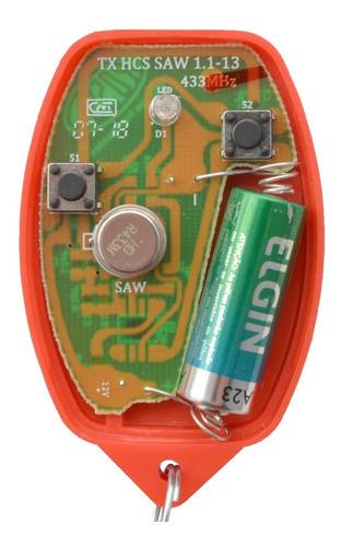 controle remoto rossi portão nano atto dz3 dz4 várias cores