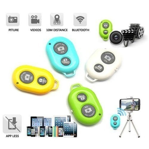 controle remoto self timer bluetooth smart tablet celular