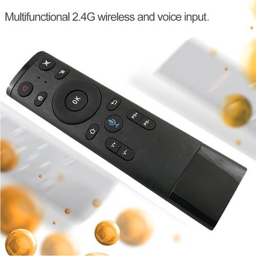 controle remoto sem fio 2.4g com entrada de voz do receptor