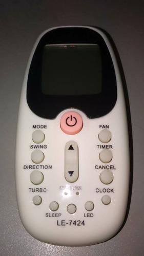 controle remoto split komeco comfee springer midea 10 peças