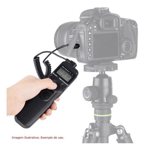 controle remoto time lapse rs-60e3 canon t5 t5i t6 t6i t7i