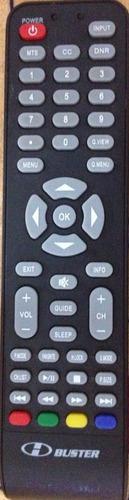 controle remoto tv lcd hbuster original hbtv-29d07hd
