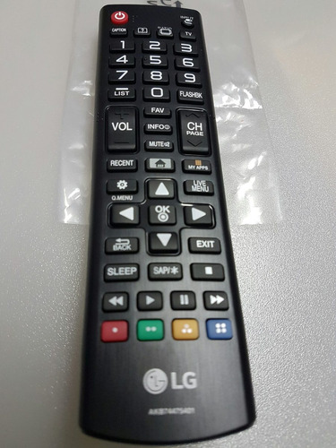 controle remoto tv led lg smart original, serve todas smartv