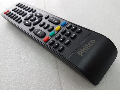 controle remoto tv led philco smart original novo - p/ todas