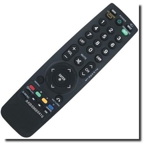 controle remoto tv lg akb69680416 42lh20r 42lh30fr 32lh30fr