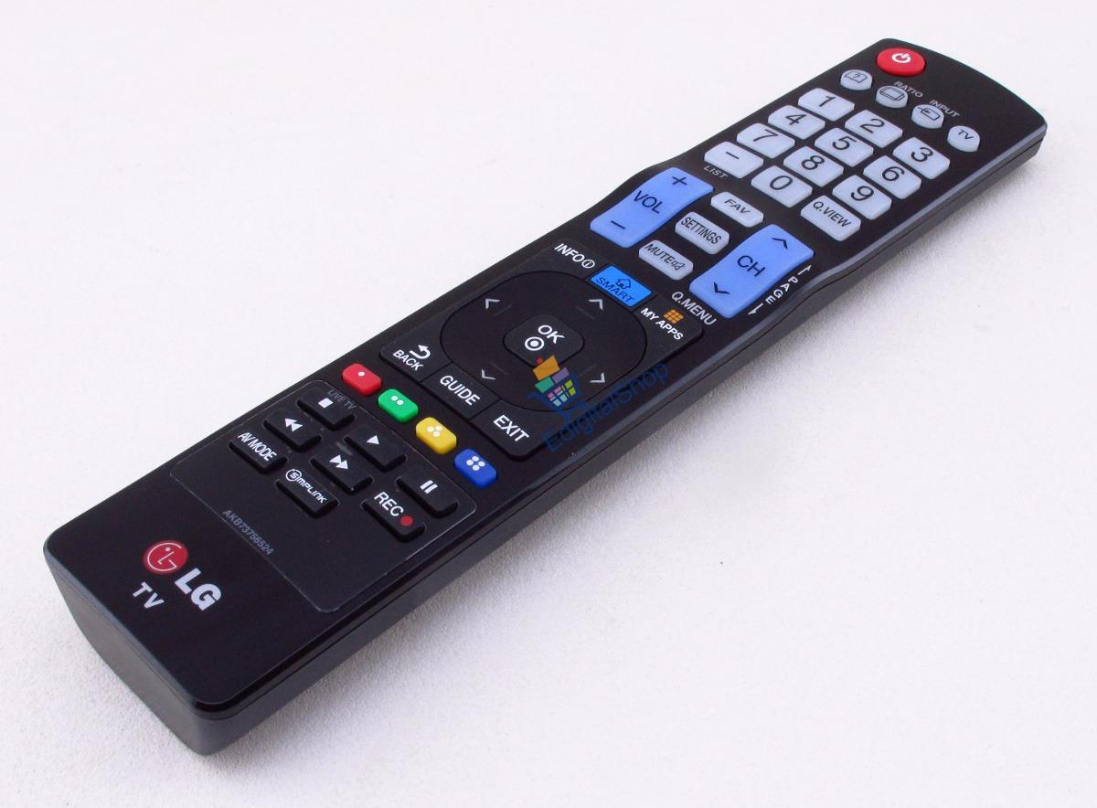 Controle Remoto Tv Lg Smart My Apps Akb73756524 Original