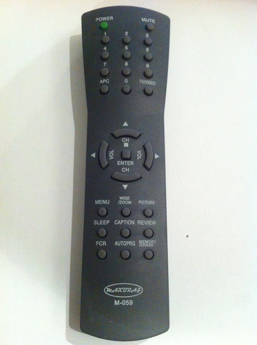 controle remoto tv lg tubo 14 a 29 flat 20b85  20b86a 20cb20