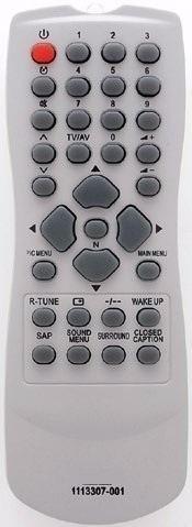 controle remoto tv panasonic tubo rc 1113307-001