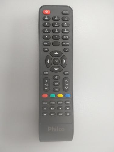 controle remoto tv philco smart original novo - todas smartv