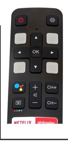 controle remoto tv tcl smart rc802v flr1 novo original + nf