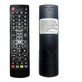 Controle Remoto Universal 2 Em 1 Tv Lg / Samsung Smart