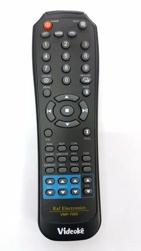 controle remoto videoke raf 7000 novo e original!!