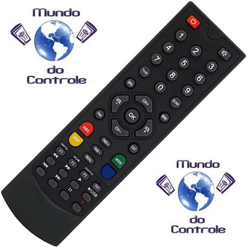 controle remoto zinwell br zbt-650n - gs300 / gs330