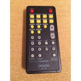 Controle Remoto Zone 2 Denon Modelo Rc-1107