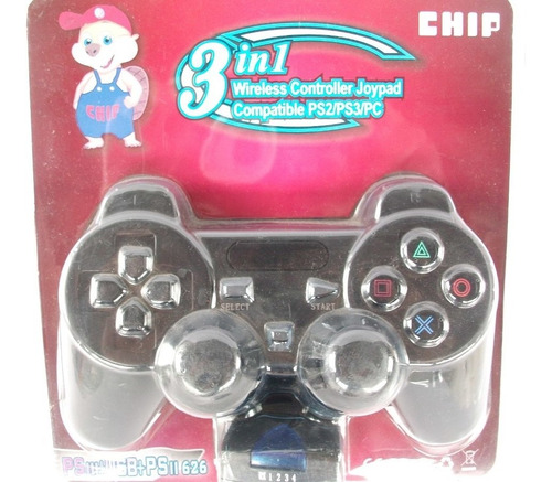 controle sem fio p/ playstation ps2 / ps3 / pc