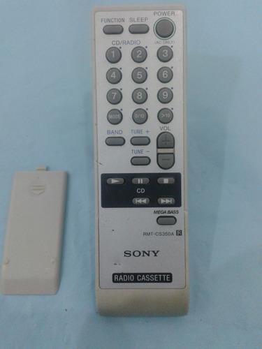 controle som sony rmt - cs350a