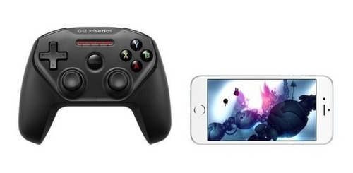 controle steelserie nimbus para apple tv 4, iphone e ipad