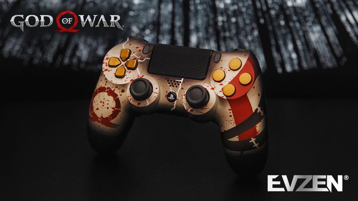 Controle Temático, God Of War - Evzen Elite Platinum, Scuf