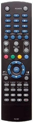 controle tv cce lcd led plasma rc-507 stile d32 / d40 / d42