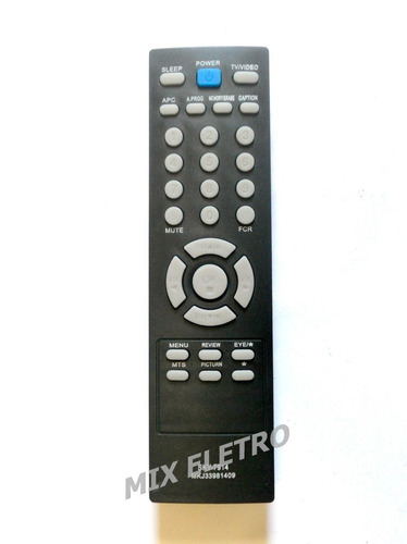 controle tv lg tubo slim 21 a 29