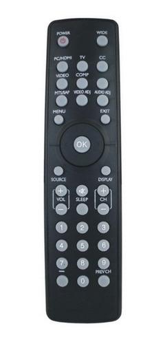 controle tv monitor aoc/philips le22h138 + pilhas gratis