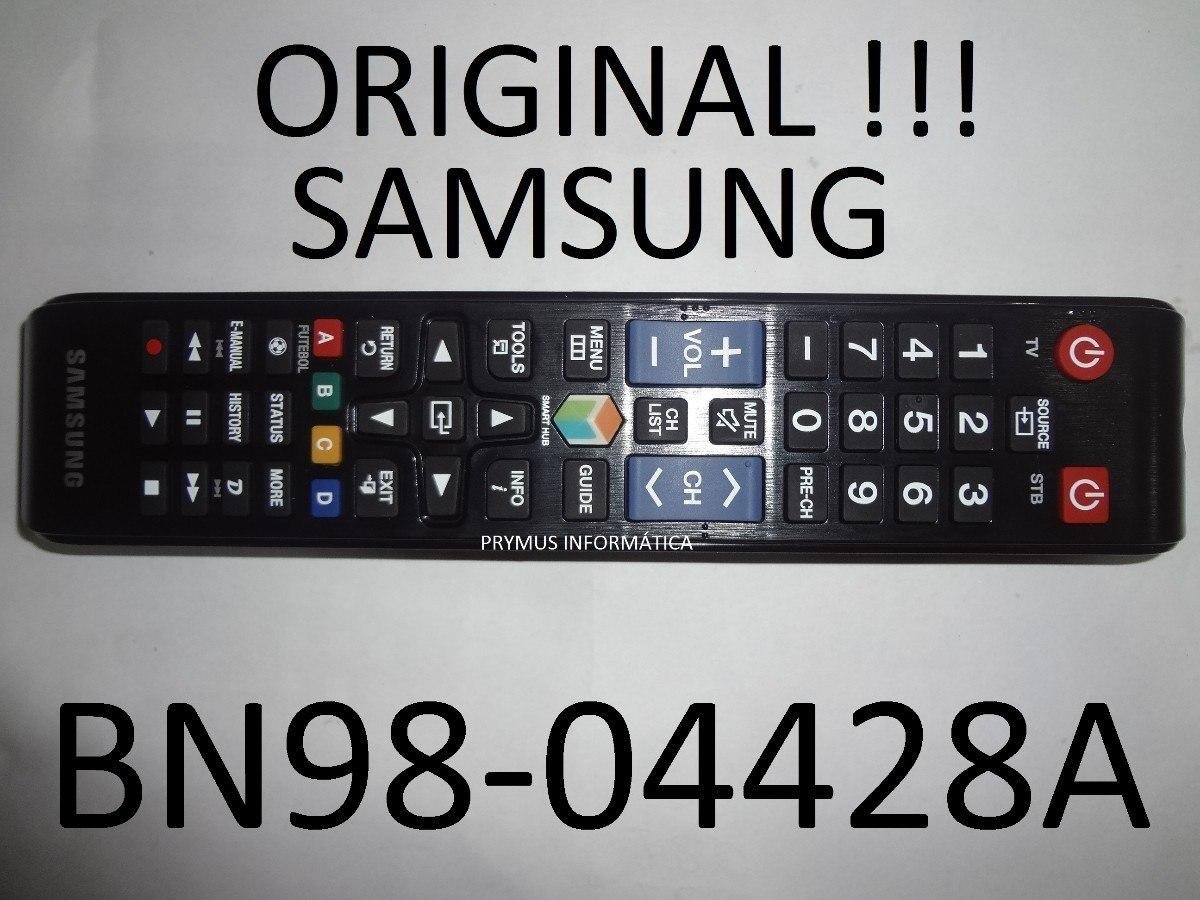 Controle Tv Samsung Smart Hub Tecla Futebol Original 7064 R 7840