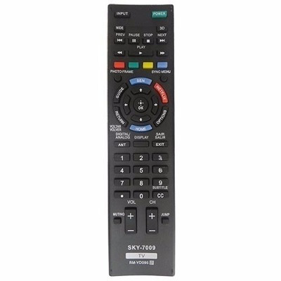 controle tv sony led smart rm-yd090 kdl-32w655a kdl-50w705a