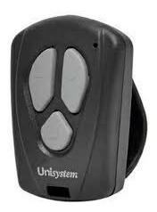 controle unisystem 433 original para portão eletronico