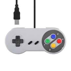 Controle Usb Super Nintendo Snes Para Pc