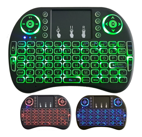 controle via bluetooth ipega 9068 + teclado led fg