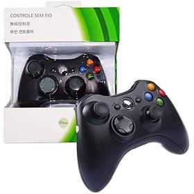 Controle Wireless Xbox 360 Slim Sem Fio