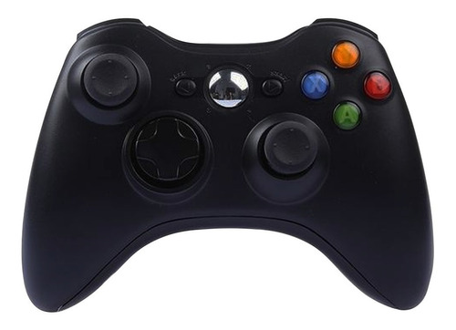 controle xbox 360 wireless sem fio joystick  usb pc notebook