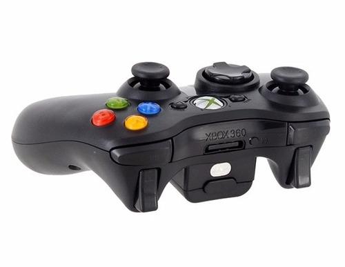 controle xbox360 sem fio wireless microsoft c/ bateria