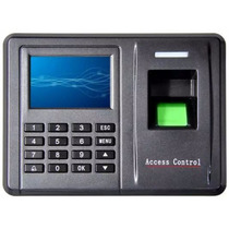 Control De Asistencia Acceso Biométrico Rfid Menú En Español