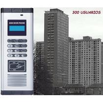 Intercomunicador Inalámbrico Gsm 300 Usuarios Control Acceso